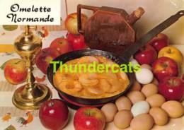 CPSM RECETTE EDITIONS LYNA No 68 L'OMELETTE NORMANDE - Recettes (cuisine)