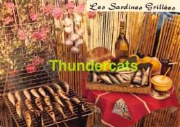 CPSM RECETTE EDITIONS LYNA No 108 LES SARDINES GRILLEES - Recettes (cuisine)