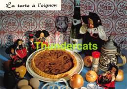 CPSM RECETTE EDITIONS LYNA No 166 LA TARTE A L'OIGNON - Recettes (cuisine)