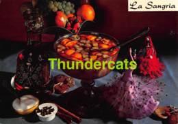 CPSM RECETTE EDITIONS LYNA No 176 LA SANGRIA - Recettes (cuisine)