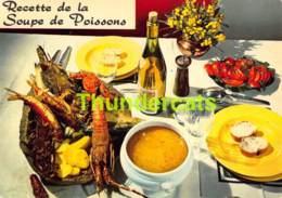 CPSM RECETTE EDITIONS LYNA No 20 RECETTE DE LA SOUPE DE POISSONS - Recettes (cuisine)
