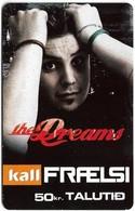 Faroe - Kall, The Dreams #3, 50Kr. GSM Refill, Exp.01.2009, Used - Faroe Islands