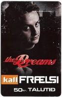 Faroe - Kall, The Dreams #4, 50Kr. GSM Refill, Exp.01.2009, Used - Faroe Islands