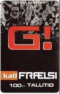 Faroe - Kall, Goym Kortid, G!, 100Kr. GSM Refill, Exp.01.2009, Used - Faroe Islands