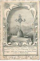 L170A_874 - Mont Saint-Bernard - Croix - Anno Santo Croce Eretta Sul Monte St Bernardo ... - Carte Précurseur - VS Valais