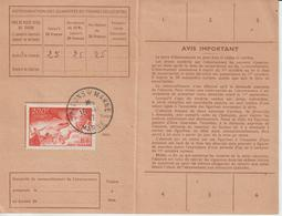 Carte Abonnement 1947 Chalons Sur Marne - 1921-1960: Modern Period
