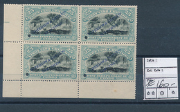 BELGIAN CONGO 1894/1900 ISSUES WATERLOW AND SONS PUBLICITY PROOFS 25C LIGHT BLUE WITH GUM MNH - Congo Belge