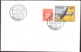 NORWAY - Kirkenes 1988 «25th Anniversary For The Airport» - Avions