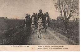 La Guerre De 1914 Spahis En Patrouille Aux Environs D'Arras - War 1914-18