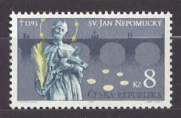 Czech Republic 1993 MNH ** Mi 4 Saint John Of Nepomuk, Sv. Jan Nepomucky. Tschechische Republik. - Czech Republic