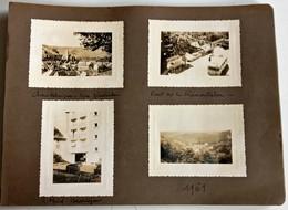 CANTAL CHAUDES-AIGUES CHAUDESAIGUES AUTOBUS HOTEL BEAUSEJOUR PONT REMOUTALOU PHOTOGRAPHIES ANCIENNES - Francia