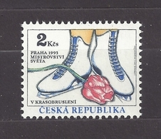 Czech Republic 1993 MNH ** Mi 2 Sc 2878 World Figure Skating Championships Prague. Eiskunstlauf. Tschechische Republik - Czech Republic