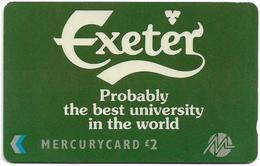 UK (Paytelco) - Exeter University, Carlsberg - 1PUND - PYU007 - 21.643ex, Used - Reino Unido