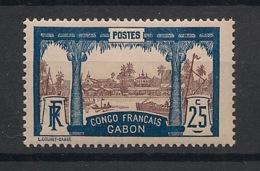 Gabon - 1910 - N°Yv. 39 - Libreville 25c Bleu - Neuf Luxe ** / MNH / Postfrisch - Neufs