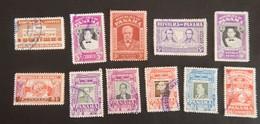 PANAMA PETIT  LOT OBLITÉRÉ ANNÉES 1955/1956 - Panama