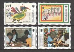 Sao Tome Et Principe 1979 Mi 579-582 MNH INTERNATIONAL YEAR OF THE CHILD - UNICEF - UNICEF