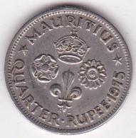 Ile Maurice ¼ Rupee 1975 Elizabeth II. KM# 36 - Mauricio