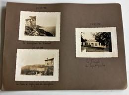 LE TRAYAS VILLA LES SEPT MIMOSAS BAIE D'AGAY SEMAPHORE DE BRAMONT 83 VAR PHOTOGRAPHIES ANCIENNES - France