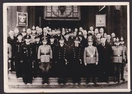 AK Propaganda / U - Boo Kommandant Günter Prien Vor Dem Rathaus In Hagen - Herdecke Mit Besatzung / 14 / 10 Cm ( E 400 ) - Weltkrieg 1939-45