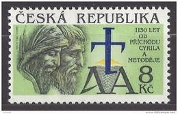 Czech Republic 1993 MNH ** Mi 11 Sc 1130 Anniversary Of The Arrival Of Cyril And Methodius. Tschechische Republik - Czech Republic