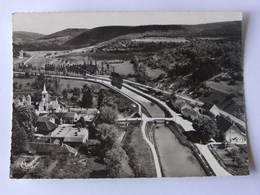CPSM - VEUVEY Sur OUCHE - Vue Aérienne De La Vallée De L'Ouche Et Du Canal De Bourgogne - Other Municipalities