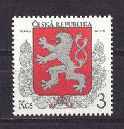 Czech Republic 1993 MNH Mi 1 Sc 2877  The Little Emblem Of The Czech Republic. The First Postage Stamp Czech Republic. - Czech Republic