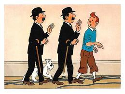 Les Aventure De Tintin Par Hergé Dupont Et Dupont - Bandes Dessinées