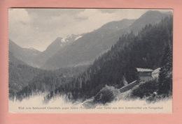OUDE POSTKAART - ZWITSERLAND - SCHWEIZ -   TENIGERBAD - SOMVIXERTHAL - GR Grisons