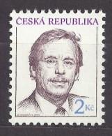 Czech Republic 1993 MNH ** Mi 3 Sc 2879 Czech President Václav Havel. Tschechische Republik - Czech Republic