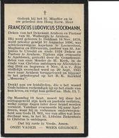 Oorlog  1940-1945   Priester Stockmann Frans  ° Dokkum,    Overleden Tijdens Evacuatie Apeldoorn 20 09 1945 - Religion &  Esoterik