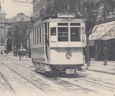 OUDE POSTKAART - ZWITSERLAND - SCHWEIZ -   ZURICH - TRAM - GROS PLAN - 1905 - ZH Zurich