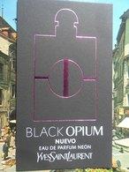 Black Opium Yves Saint Laurent - Cartes Parfumées