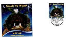 FDC Wallis Et Futuna De 2017 - Noël 2017 - FDC