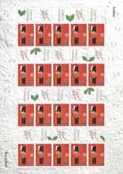 Gran Bretagna, 2001 Natale 2 Fogli Smilers, Rari, Perfetti - Personalisierte Briefmarken