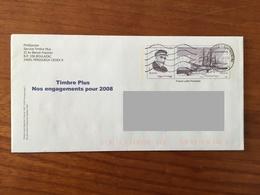 PAP - PRET A POSTER De Correspondance De Phil@poste / Timbre Plus - CHARCOT - Oblitéré/circulé - Entiers Postaux