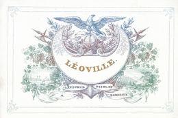 CARTES PORCELAINE. 6 Cartes Porcelaine Françaises. - Autres Collections