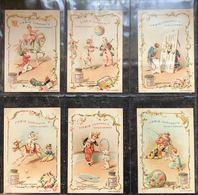 [CHROMOS] LIEBIG. 137 Séries De 6 Chromos Avec Petit Po - Autres Collections