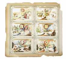 [CHROMOS] LIEBIG. 134 Séries De 6 Chromos Avec Petit Po - Autres Collections