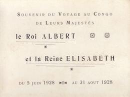 [CONGO BELGE] SOUVENIR DU VOYAGE AU CONGO DE LEURS MAJE - Autres Collections
