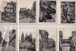 TOURNAI 1940. Ensemble 60 Petites Photos De Ruines N/b - Autres Collections