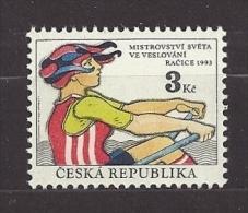 Czech Republic 1993 MNH ** Mi 20 Sc 2901 World Rowing Championships In Racice. Ruder-Weltmaister. Tschechische Republik - Czech Republic