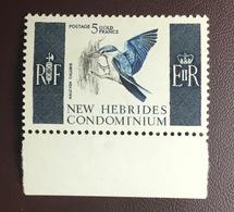 New Hebrides 1963 5f Kingfisher Birds MNH - Vögel