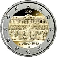 GERMANIA - 2 Euro 2020 - Brandeburgo - UNC!!! - Allemagne