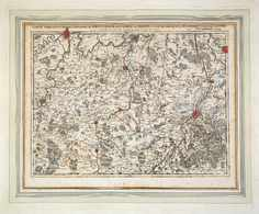 [BELGIQUE] Eugenius Henricus FRICX - Carte Particulière - Cartes Topographiques