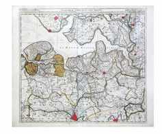 [BELGIQUE] Nicolaas II VISSCHER - Flandriae Comitatus P - Cartes Topographiques