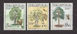 Czech Republic 1993 MNH ** Mi 23-25 Sc 2904-2906 Protecting Nature- Trees. Bäume Naturschutz. Tschechische Republik - Czech Republic