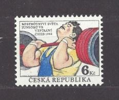 Czech Republic 1993 MNH ** Mi 8 Sc 2884 World Championship In Weightlifting Cheb 1993 Junior.Tschechische Republik - Czech Republic