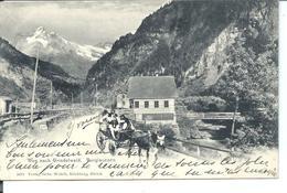 Weg Nach GRINDELWALD - Burglauenen - Attelage (1905) - BE Berne