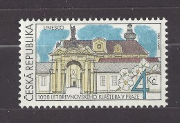 Czech Republic 1993 MNH ** Mi 7 Sc 2883 UNESCO 1000 Years Brevnov Monastery.  Kloster Břevnov.Tschechische Republik - Czech Republic