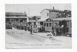 CPA 69 La Libre-Pensée à ARS 6 Juin 1909 Départ De Villefranche   Port Simple Gratuit - Villefranche-sur-Saone